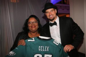 Brent Celek with previous guest